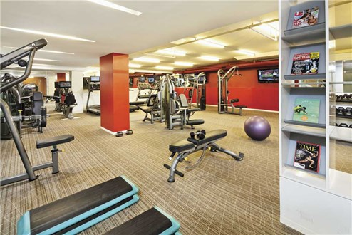 Full Equipped Fitness Center