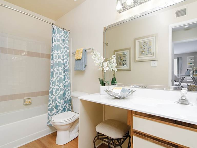 For Rent in Gaithersburg, MD - Gorgeous bathrooms at