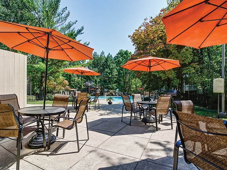 Christopher Avenue, Gaithersburg, MD 20879-3622 - Sunbathe or meet friends on the deck at